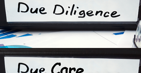 Due Diligence vs Due Care
